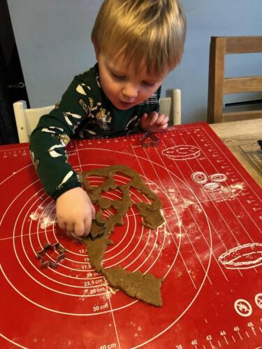 Vi Maler, leger Indianer og Jule(r)
